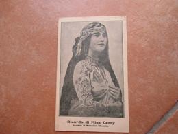 Tatuaggio Tattoo Ricordo Di Miss CARRY Mosaico Vivente Indiani America Fenomeno Baraccone - Cartoline