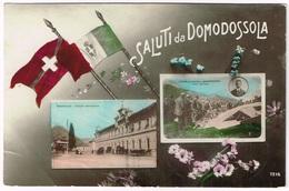 GEO CHAVEZ Aviateur: Caduta/Absturz Sempione-Domodossola 1910/1914 - Italien