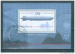 "BUND - Block Nr. 69 - Luftschiff LZ 127 ""Graf Zeppelin"" Gestempelt BERLIN - BRD"