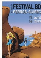 Carte Posale DANY Festival BD Perros-Guirec 2019 (Olivier Rameau) - Tarjetas Postales