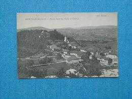 MONTFLEUR ( Jura) Partie Haute Du Bourg Et Château - Otros Municipios