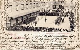 WIEN - Burgmusik, Fahnenübergabe, 5.5.1898 - Wien Mitte