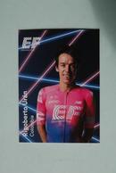 CYCLISME: CYCLISTE : EQUIPE EF EDUCATION 2019 Format 9 X 6.3 : RIGOBERTO URAN - Ciclismo