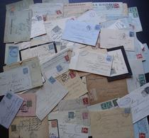 Plus De 220 Lettres Entre 1877 Et 1920, Voir Photos De Détail ! - Postmark Collection (Covers)
