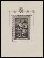 ~~~ Croatia 1943 - Phila Expo -  Mi. Block 6 ** MNH OG - CV 18 Euro  ~~~ - Kroatië