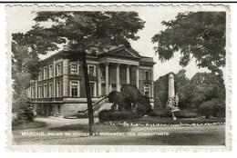 Marche - Palais De Justice Et Monument Des Combattants - Circulée En 1942 - Edit. Mossiat-Perin - 2 Scans - Marche-en-Famenne