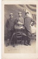 Cpa(carte Photo)-14-ouistreham-militaria-portrait Militaire-photographe P. Richier ( Riva Bella / Ouistreham )-1/05/1915 - Ouistreham