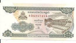 CAMBODGE 200 RIELS 1998 AUNC P 42 - Cambodge