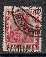 Saargebiet 1920 // Mi. 33 O - Oblitérés