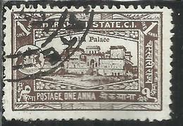 CHARKHARI STATE INDIA INDE 1931 IMLIA PALACE 1a USATO USED OBLITERE' - Charkhari
