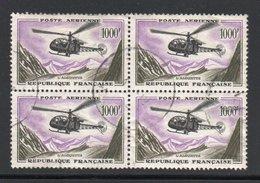BLOC DE 4 YT 37 ALOUETTE - 1927-1959 Matasellados