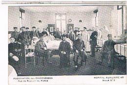 Paris  12  Hopital  Auxiliaire Salle 2 Rue De Reuilly Pa17 - Santé, Hôpitaux