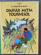 TINTIN En Alsacien : D'affär Mit'm Tournesol / L'affaire Tournesol  Casterman 1984 - Boeken, Tijdschriften, Stripverhalen