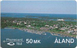 Aland - View Of Mariehamn - 2FIND - 1990, 25.000ex, Mint No Blister - Aland