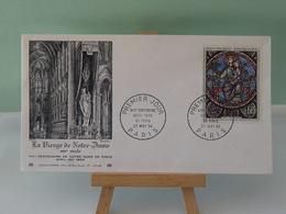 La Vierge De Notre Dame De Paris - Paris - 23.5.1964 FDC 1er Jour - Coté 9€ - 1960-1969