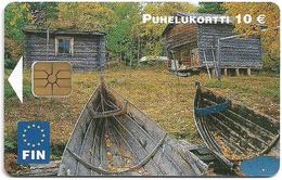 Finland - FIN - Kalapirtit, Fishing Cottages - Exp. 12.2003, 10.000ex, Used - Finland