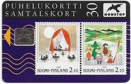 Finland - Sonera - Moomins - 09.1992, SC5, 30mk, 50.000ex, Used - Finland