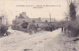 Cpa -22-collinée--routes De Moncontour Et St Gueno-edi Biche - Sonstige Gemeinden