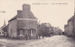 Cpa -22-collinée-bijouterie  , Horlogerie , Velocipedes-personnages-rue De Moncontour -edi Biche - Sonstige Gemeinden