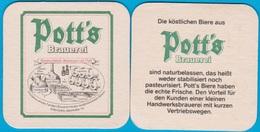 Pott's Brauerei Oelde ( Bd 2287 ) - Bierdeckel
