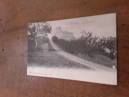 Cartolina Postale D'epoca , Salsomaggiore, Castello Di Tabiano - Italia