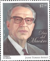 J) 2016 MEXICO, DIPLOMAT, PUBLIC OFFICAIL, WRITER, ESSAYIST AND MEXICAN POET, JAIME TORRES BODET, TEACHERS DAY, MNH - Mexico