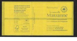 Carnet Daté 21.09.1  Marianne L'engagée Yseult YZ - Carnets