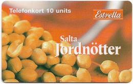 Sweden - Telecom Finland - Salta Jordnötter, Exp. 31.12.1998, Remote Mem. 10U, 1.060ex, Used - Sweden
