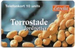 Sweden - Telecom Finland - Torrostade Jordnötter, Exp. 31.12.1998, Remote Mem. 10U, 1.060ex, Used - Sweden