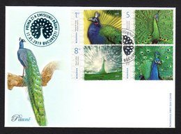 Romania 2019 / Peafowls / FDC From Album - Paons