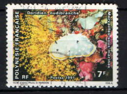 POLINESIA FRANCESE - 1991 - MARINE LIFE - USATO - Polinesia Francese