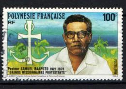 POLINESIA FRANCESE - 1988 - SAMUEL RAAPOTO: MISSIONARIO PROTESTANTE - USATO - Polinesia Francese