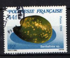 POLINESIA FRANCESE - 1988 - CONCHIGLIA: BERTHELINIA - USATO - Usati