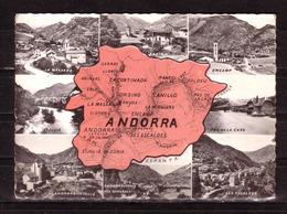485f * VALLS D'ANDORRA * 9 ANSICHTEN * 1965 ** !! - Andorra