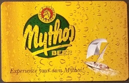 Telefonkarte Griechenland - 08/01 - Mythos Beer , Bier (2) - Greece