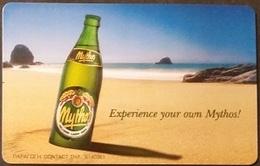 Telefonkarte Griechenland - 08/01 - Mythos Beer , Bier (3) - Greece