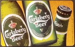 Telefonkarte Griechenland - 08/01 - Carlsberg Beer ,Bier (2) - Greece