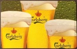 Telefonkarte Griechenland - 08/01 - Carlsberg Beer ,Bier (3) - Greece