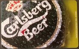 Telefonkarte Griechenland - 08/01 - Carlsberg Beer ,Bier (4) - Greece