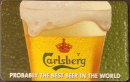 Telefonkarte Griechenland - 08/01 - Carlsberg Beer ,Bier (5) - Greece