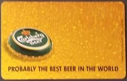 Telefonkarte Griechenland - 08/01 - Carlsberg Beer ,Bier (6) - Greece