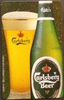 Telefonkarte Griechenland - 08/01 - Carlsberg Beer ,Bier (7) - Greece