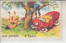 76  - YPORT -  Une Pensée... - Yport