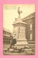 C.P. Houdeng-Gœgnies =   Le  Monument 1914-1918 - La Louviere