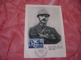 1956 Colonel Driant C M Carte Maximum - Cartes-Maximum