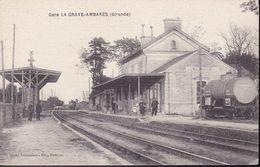 GIRONDE –  Gare La Grave-Ambarès - France