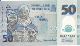 NIGERIA 50 NAIRA 2011 UNC P 40 C - Nigeria