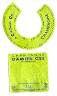Etiquette De Champagne  CEZ Damien - Saint Martin D'Albois - Champagne