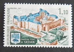 """FRANCE YT 1686 NEUF**MNH"""" CHÂTEAU DE SEDAN"""" ANNÉE 1971 - Ungebraucht"""
