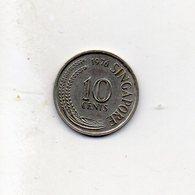 Singapore - 1976 - 10 Cent. - Vedi Foto - (MW2517) - Singapur